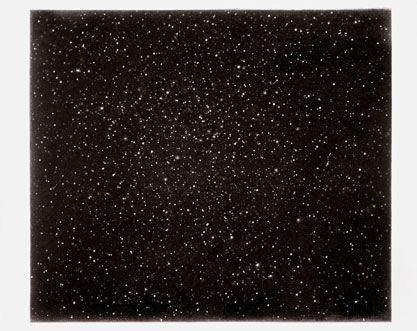 Vija Celmins: Night Sky #20, 1999